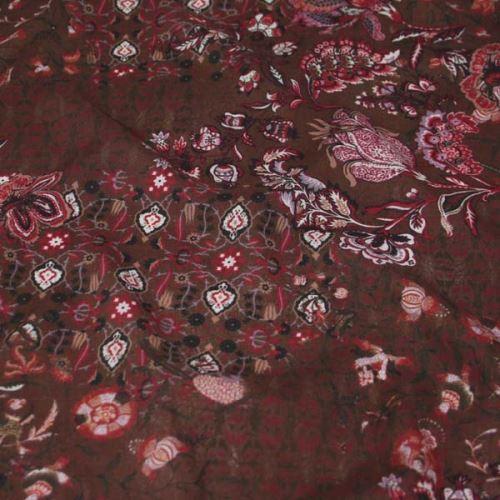 Šatovka hnědá, květy a ornamenty, š.145
