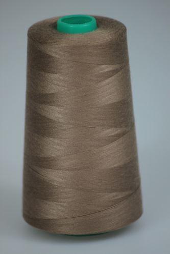 Nit KORALLI polyesterová 120, 5000Y, odstín 7265, béžová