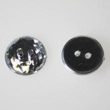 Knoflík broušený K24-1, průměr 15 mm.
