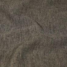 Len hnědo-šedý melange 18379, 180g/m, š.130