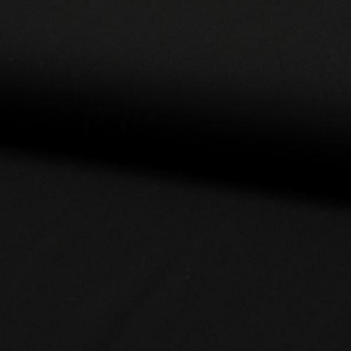 Košilovina černá, š.140