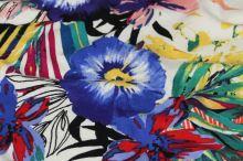 Úplet 17774, barevný květ, š.150