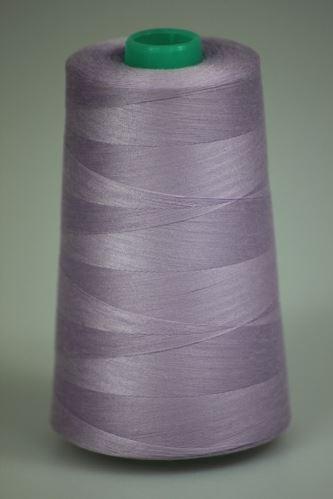 Niť KORALLI polyesterová 120, 5000Y, odtieň 4140, fialová