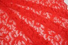Krajka 16461 oranžovo-červená, š.135