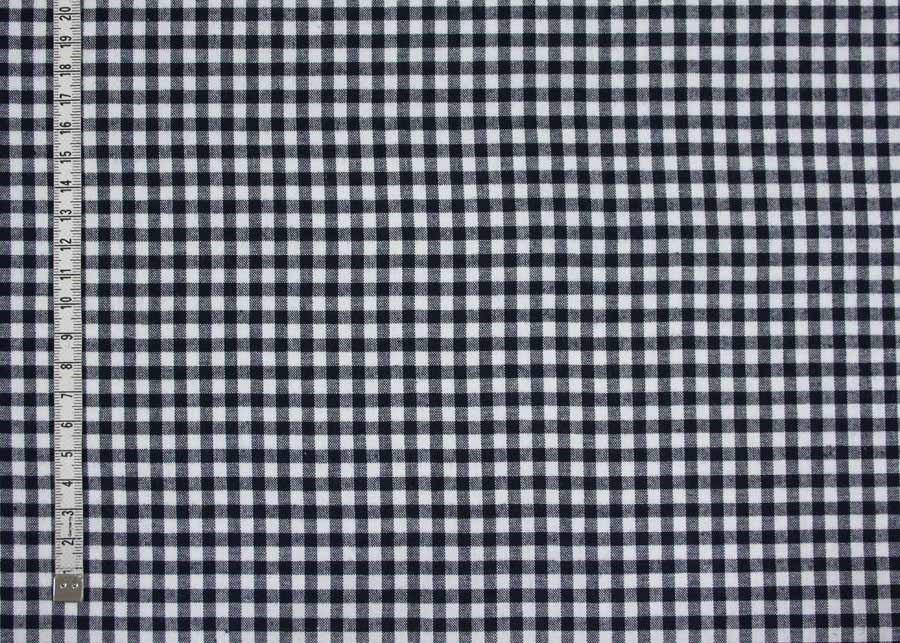 944b057128bb Bavlna modrobílé káro š.145