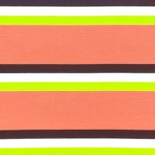 Úplet 21939, broskyňovo-zeleno-modré pruhy, š.150