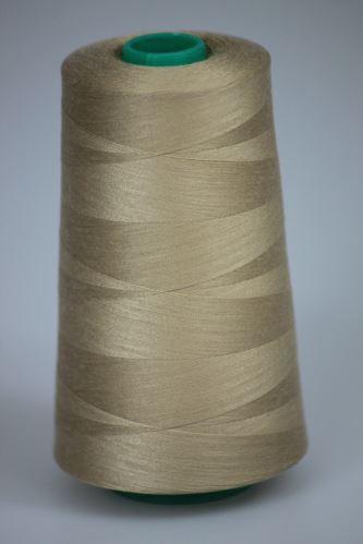 Nit KORALLI polyesterová 120, 5000Y, odstín 7240, béžová