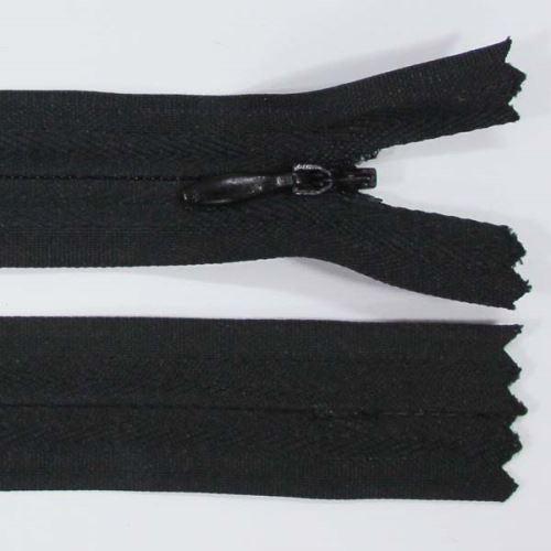 Zips skrytý 3mm dĺžka 55cm, farba 332