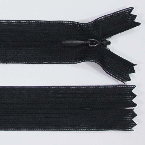 Zips skrytý šatový 3mm dĺžka 60cm, farba 332
