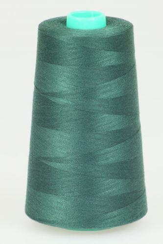 Niť KORALLI polyesterová 120, 5000Y, odtieň 6670, zelená