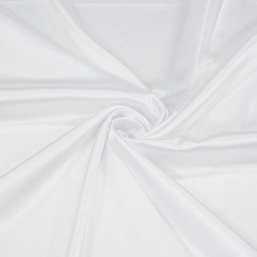 Satén bílý 062, š.140