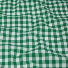 Kanafas zeleno-bílý, š.145