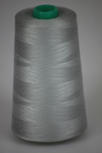 Niť KORALLI polyesterová 120, 5000Y, odtieň 9175, šedá