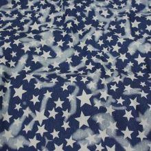 Denim modrý, hvězdy š.145