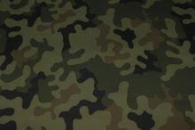 Slunečníkovina army vzor, š.150