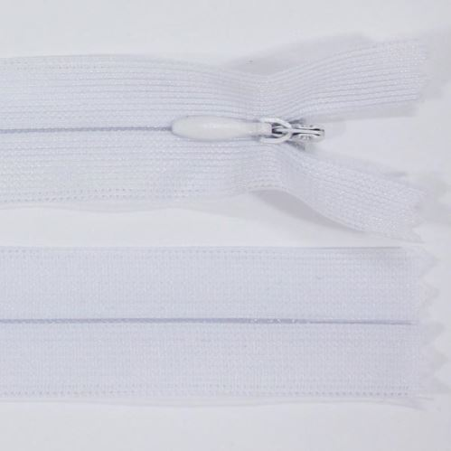 Zips skrytý šatový 3mm dĺžka 45cm, farba 101