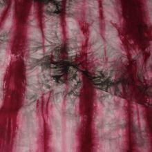 Šatovka hnedo-ružová batika, š.140