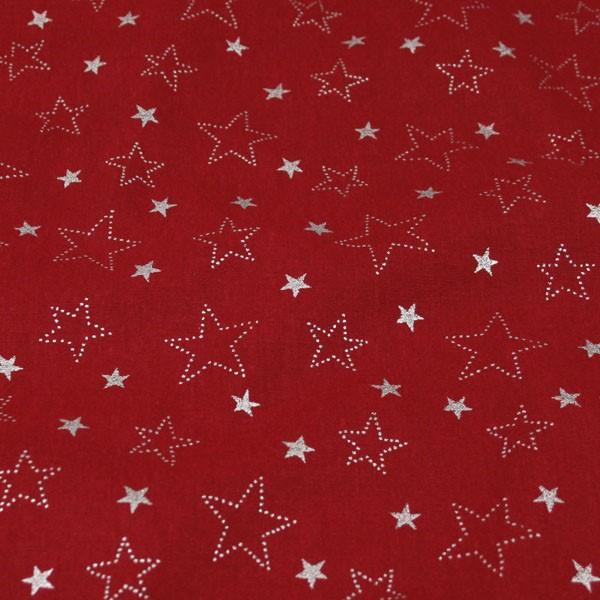 8e3b8a5f48 Bavlnené plátno červené