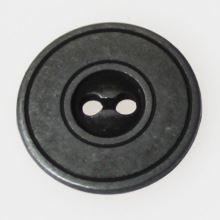 Knoflík šedý patina K28-3, průměr 18 mm.