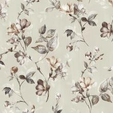 Dimout béžový, kvetinový vzor, š.150