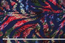Úplet modrý 15364, farebný vzor š.145