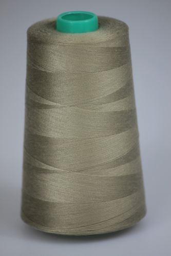 Niť KORALLI polyesterová 120, 5000, odtieň 7320, béžová