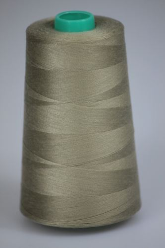 Niť KORALLI polyesterová 120, 5000Y, odtieň 7320, béžová