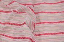 Šatovka béžová, barevný pruh š.140