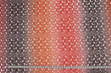 Čipka oranžovo-červená N2910, š.150