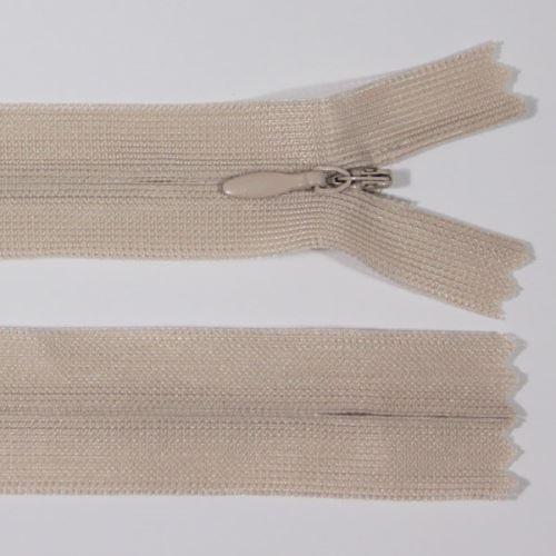 Zip skrytý šatový 3mm délka 50cm, barva 827