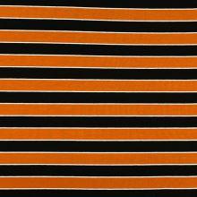 Úplet 21473, oranžovo-čierny pruh, š.155