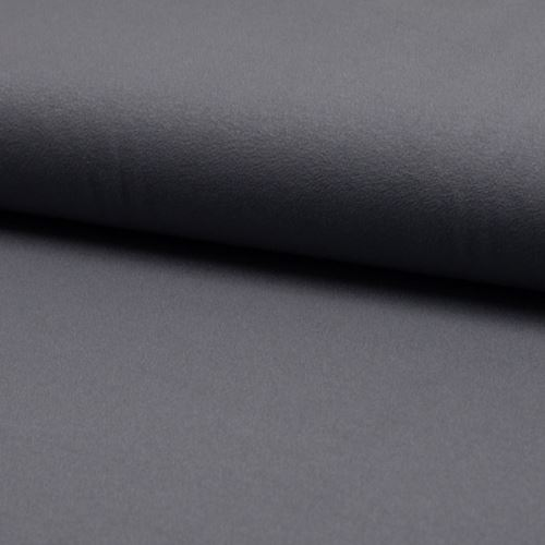 Úplet žoržet DE LUXE tmavě šedý, 260g/m, š.145