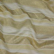 Kostýmovka šampáň, zlatý pruh, š.135
