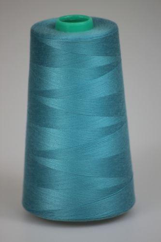 Niť KORALLI polyesterová 120, 5000, odtieň 5250, modrá