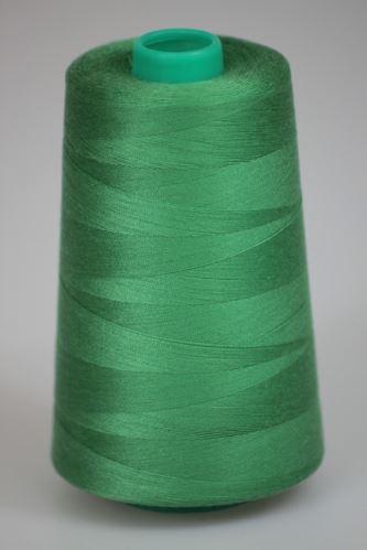 Niť KORALLI polyesterová 120, 5000Y, odtieň 6250, zelená