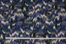 Úplet šedomodrý vzor, š.150