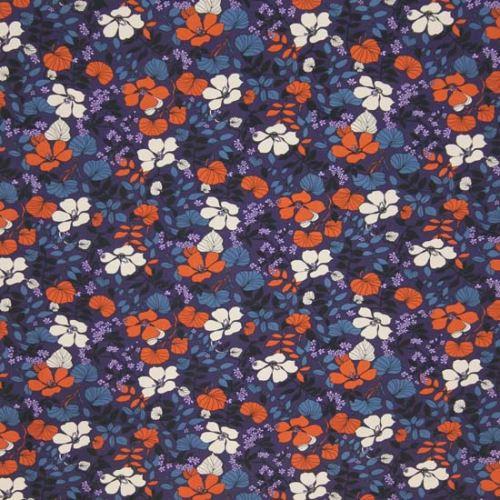 Úplet fialový, rezavý květ š.150