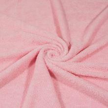 Froté růžové, bavlněné, 340g/m, š.150