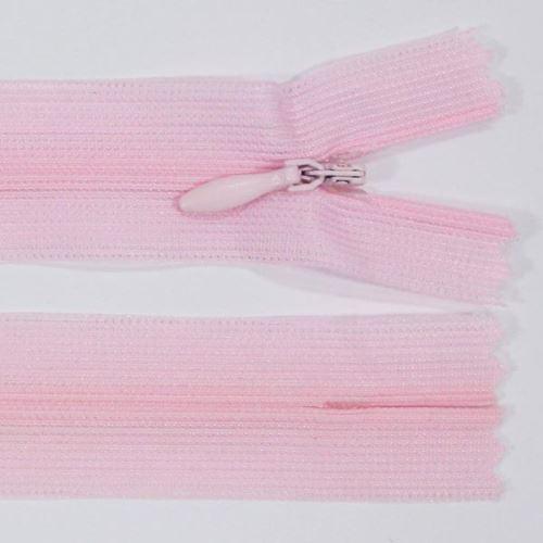 Zips skrytý šatový 3mm dĺžka 45cm, farba 133