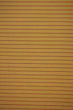 Úplet žltý, oranžovohnedé pruh š.165