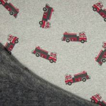 Warmkeeper šedý, hasičská auta, š.145