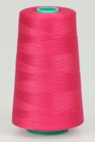 Niť KORALLI polyesterová 120, 5000Y, odtieň 3610, ružová