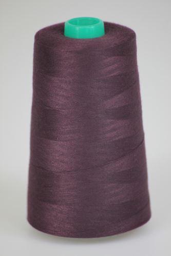 Niť KORALLI polyesterová 120, 5000Y, odtieň 2800, fialová