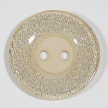 Knoflík béžový, průměr 30 mm
