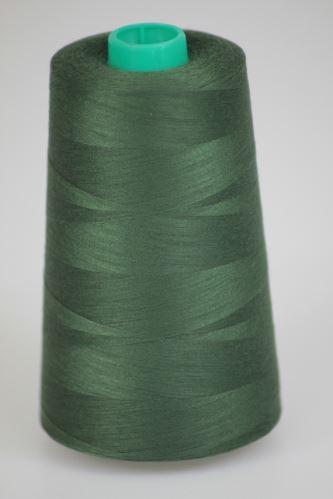 Niť KORALLI polyesterová 120, 5000, odtieň 6850, zelená