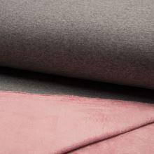 Warmkeeper šedý, z rubu růžový, š.155