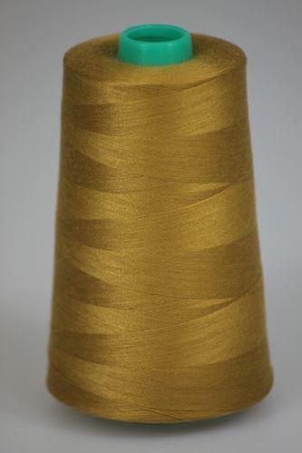 Niť KORALLI polyesterová 120, 5000Y, odtieň 1460, hnedá
