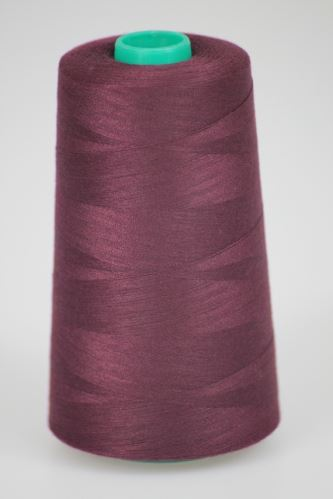 Niť KORALLI polyesterová 120, 5000Y, odtieň 2790, fialová