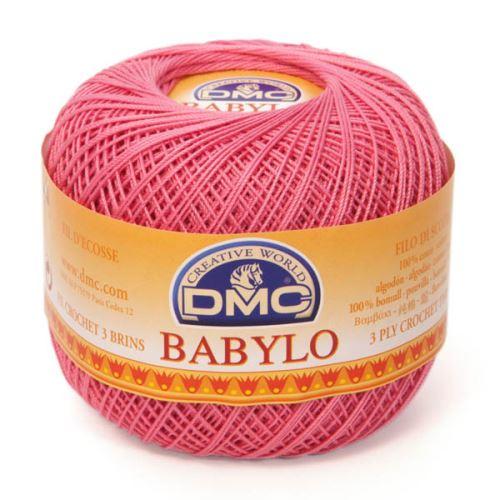 Babylo 50g, síla 10, růžová - odstín 603