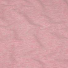 Teplákovina počesaná světle růžová, melé, š.150